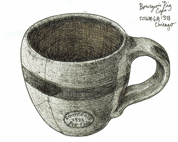 Bourgeois Pig Cafe - Keith Spencer
