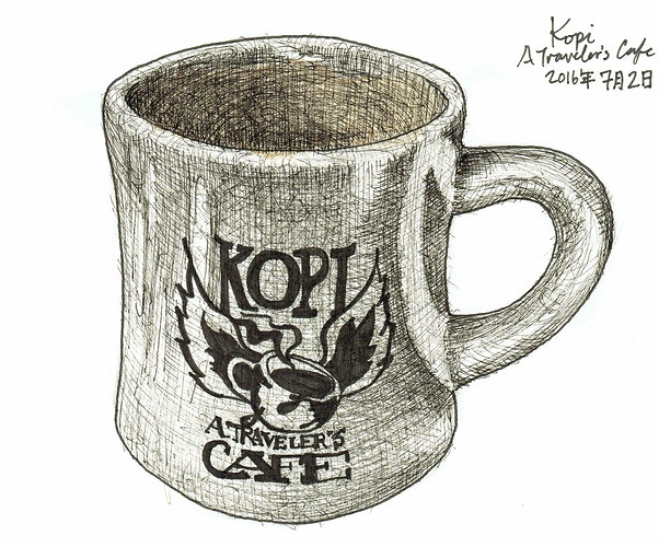 Kopi - Keith Spencer
