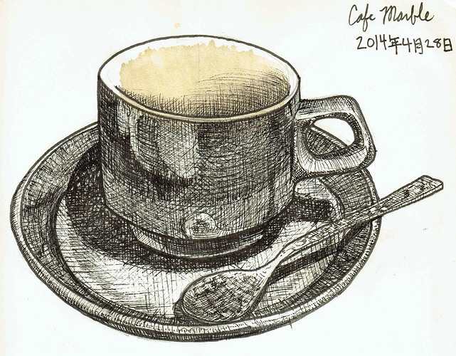 Cafe Marble - Keith Spencer