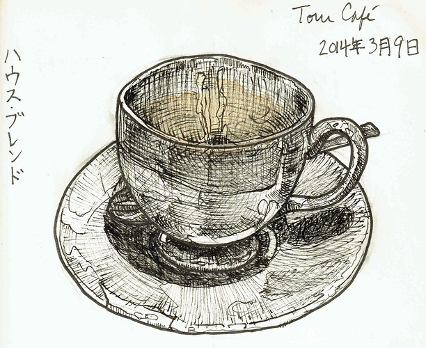 Toru Café - Keith Spencer