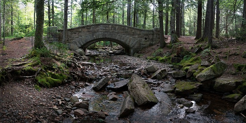 Hadlock Brook Bridge, Acadia NP, ME - Kirk Marshall Photography