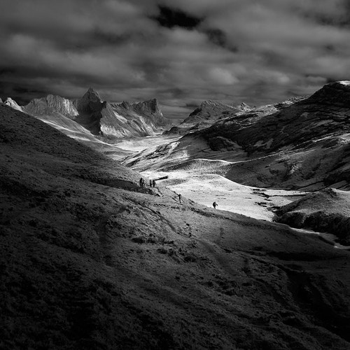 Six Trek the Huayhuash, Huayhuash, Peru - Kirk Marshall Photography