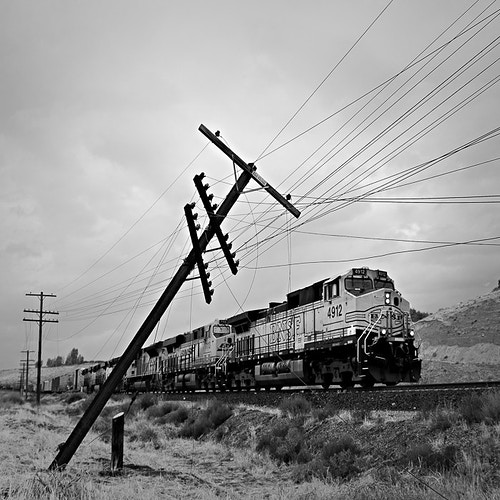 BNSF 4912, Ilmon, CA - Kirk Marshall Photography