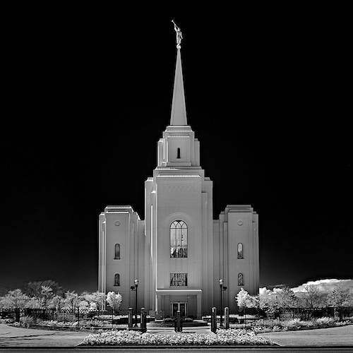 Mormon Temple, Brigham City, UT - Kirk Marshall Photography