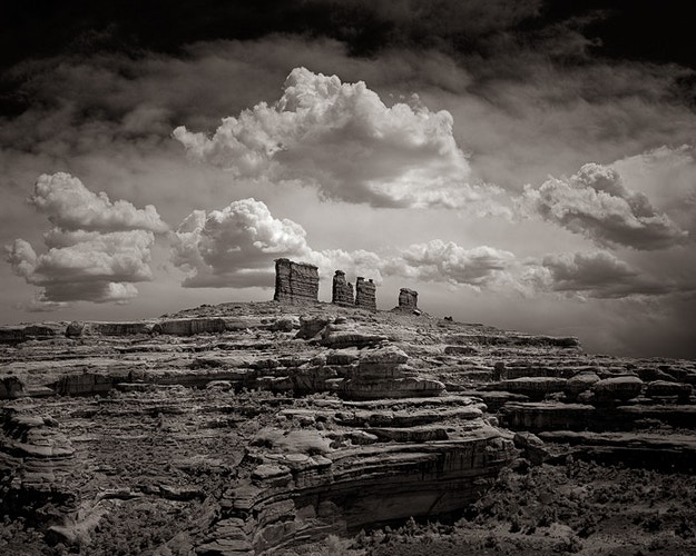 The Chocolate Drops, Canyonlands NP, UT - Kirk Marshall Photography