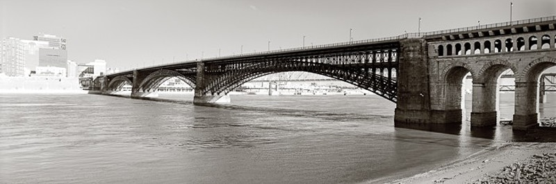 Eads Bridge, St. Louis, IL - Kirk Marshall Photography