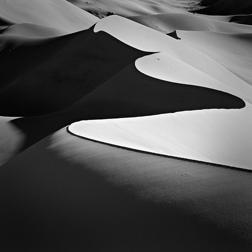 Eureka Dunes, Study No.1; Death Valley NP, CA - Kirk Marshall Photography