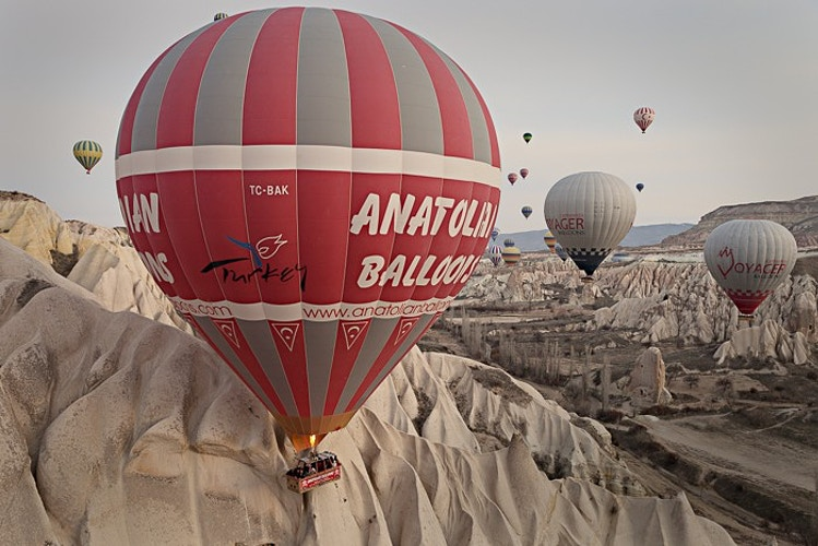 Balloons over Cappadocia, Cappadocia, Turkey - Kirk Marshall Photography
