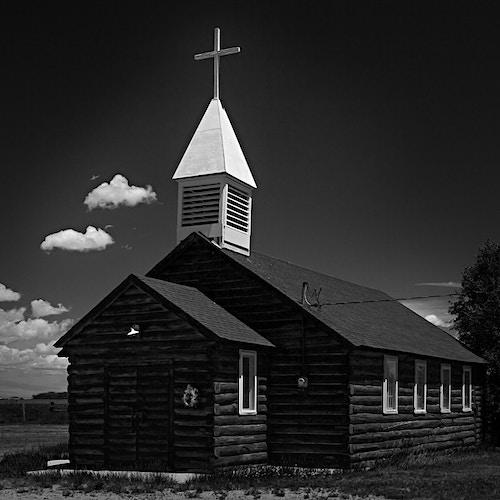Log Cabin Church, Eden, WY - Kirk Marshall Photography