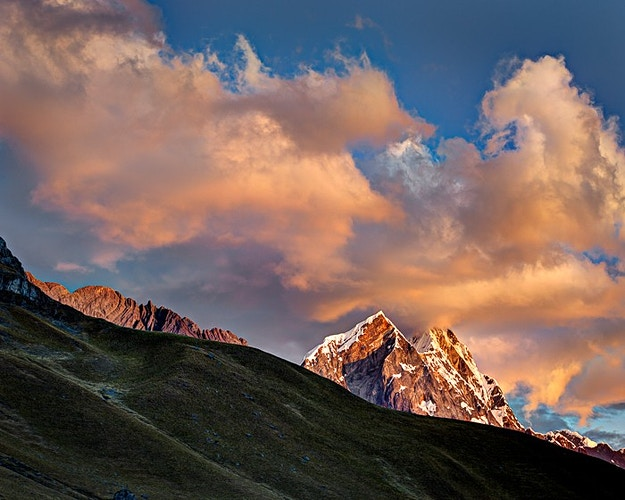 Ninashanca Sunset, Huayhuash, Peru - Kirk Marshall Photography