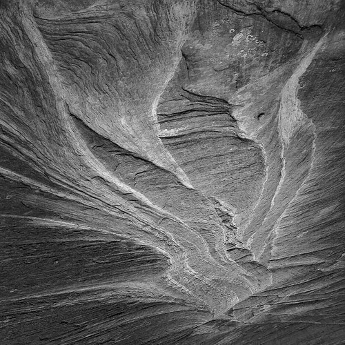 Sandstone, Study No.1, Glen Canyon NRA, UT - Kirk Marshall Photography