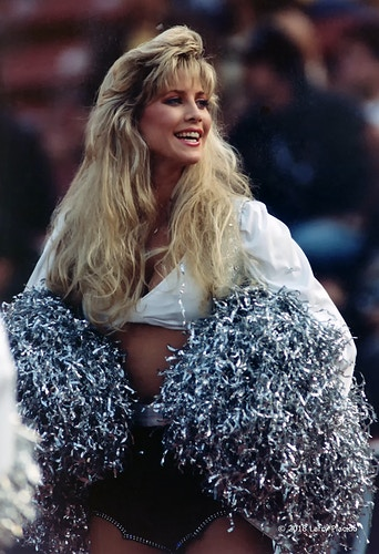 Cindy Sullivan - Oakland Raiderette - Larry Placido Photography