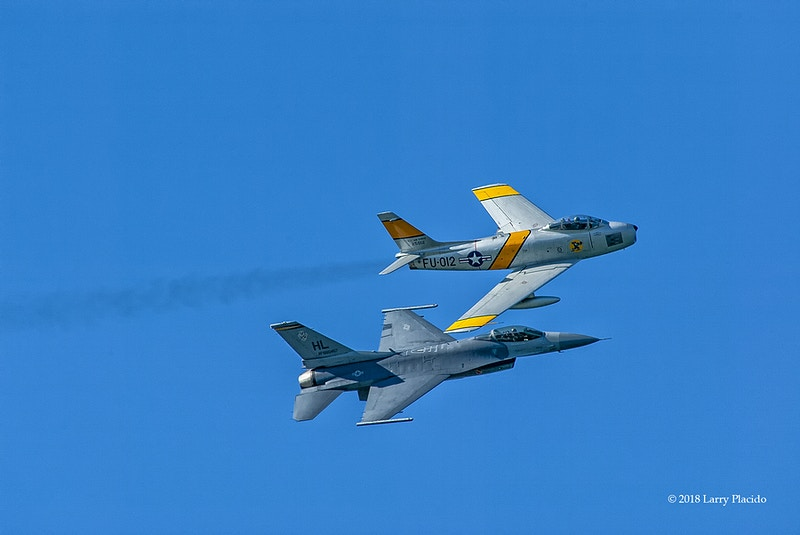 USAF Heritage Flight - Larry Placido Photography
