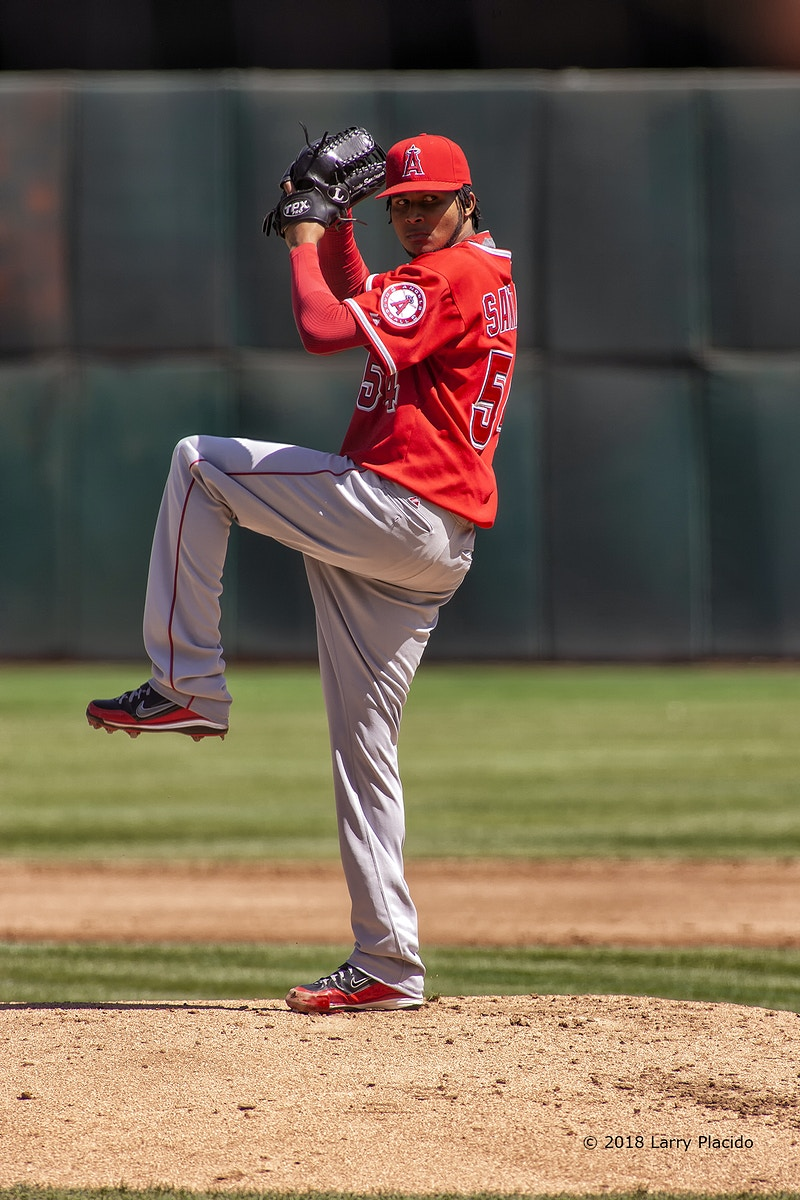 Ervin Santana - Los Angeles Angels - Larry Placido Photography