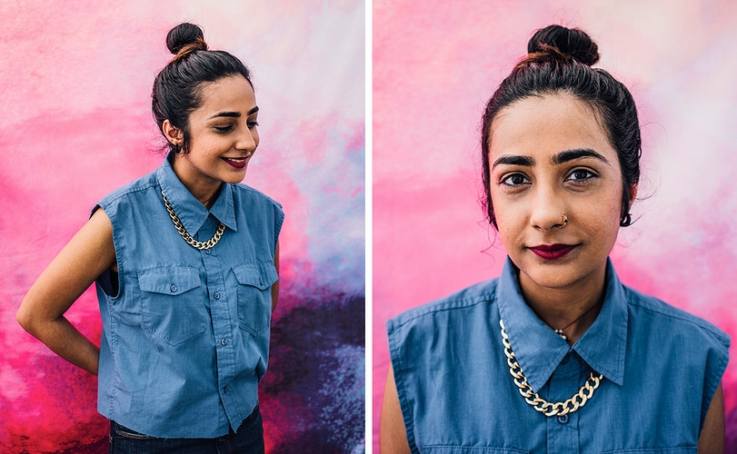 The Houston Equal Rights Ordinance protects people of any ethnicity from discrimination. Meet Muna: - Lauren Marek