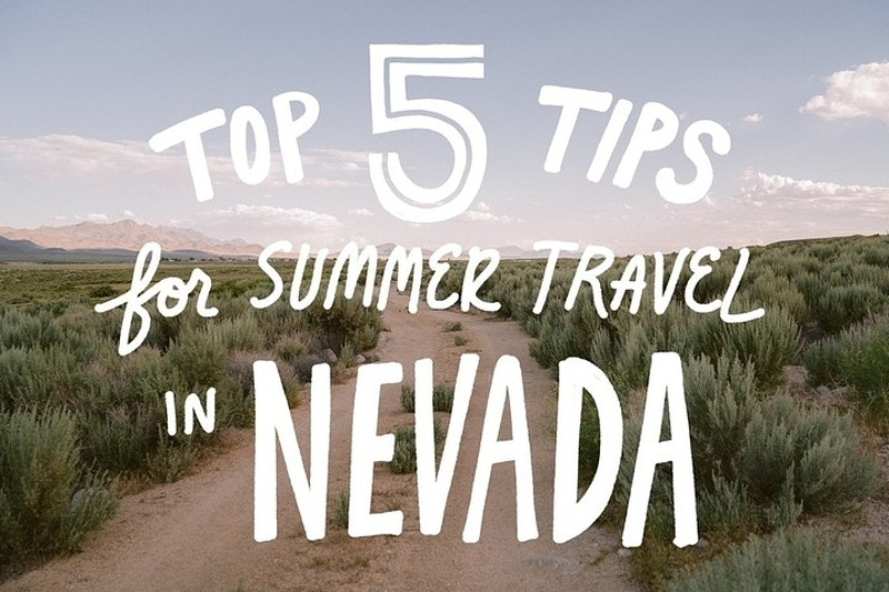 Nevada Video Recap And Travel Tips - Lauren Marek