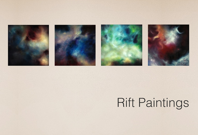 Rift Paintings - Leah Downing Art