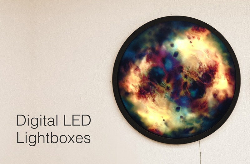 Rift Lightboxes - Leah Downing Art