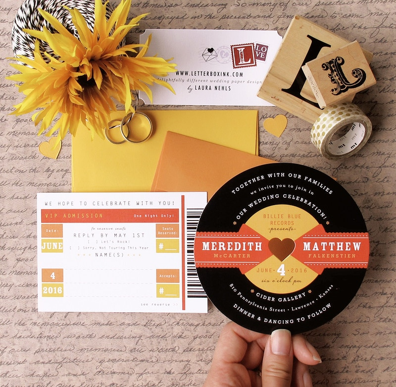 Retro Record - LetterBoxInk by Laura Nehls