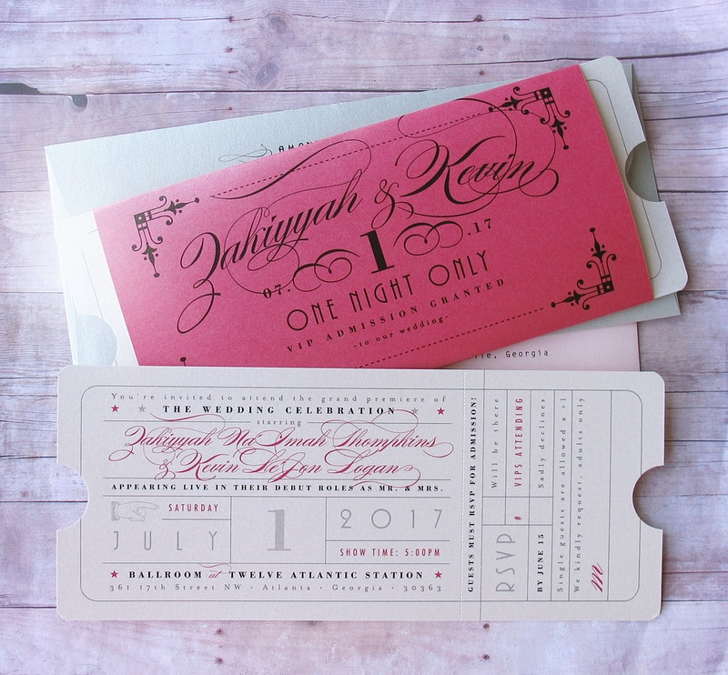 Theater Ticket - LetterBoxInk by Laura Nehls