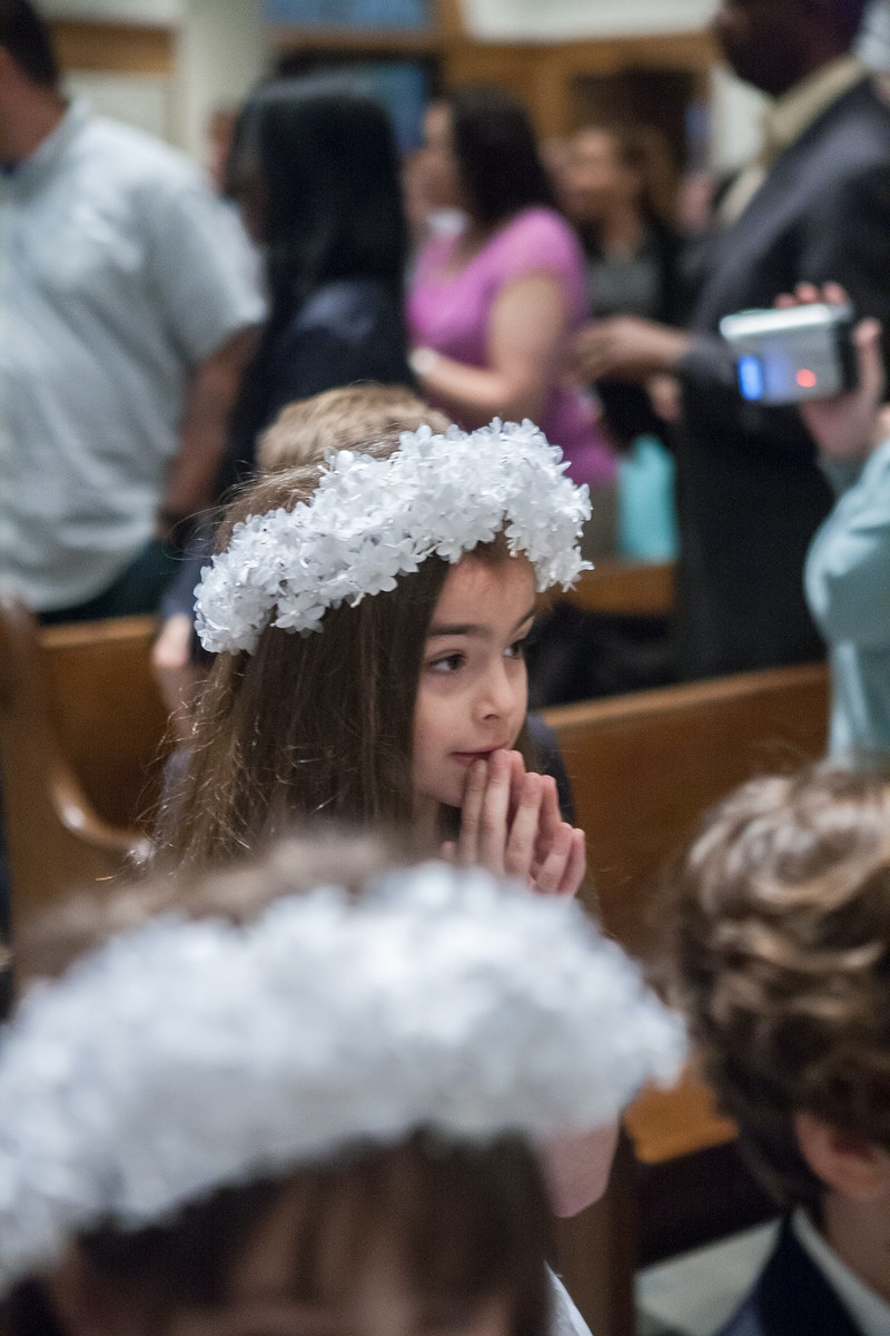 Chelseas First Holy Communion - Lisa Brown Photo || New York Wedding & Lifestyle Photography