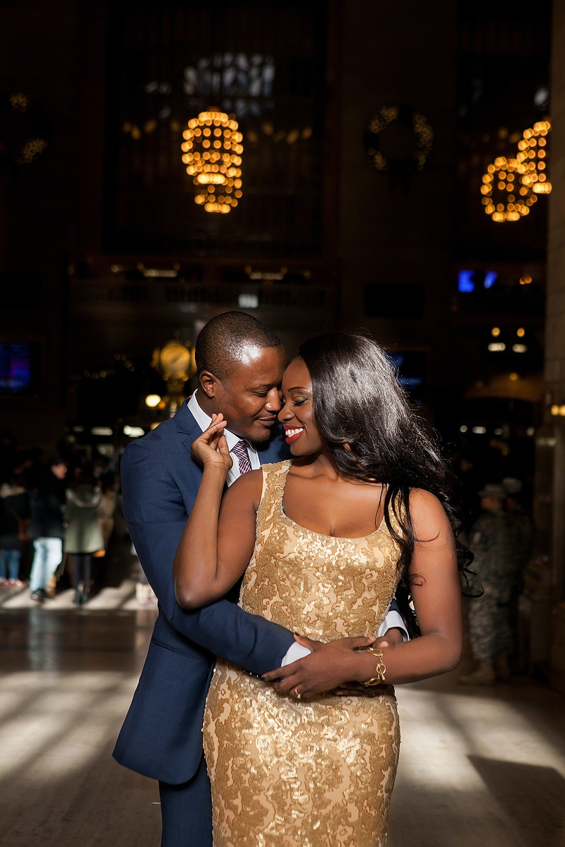 Joseph And Adwoa - Lisa Brown Photo || New York Wedding & Lifestyle Photography