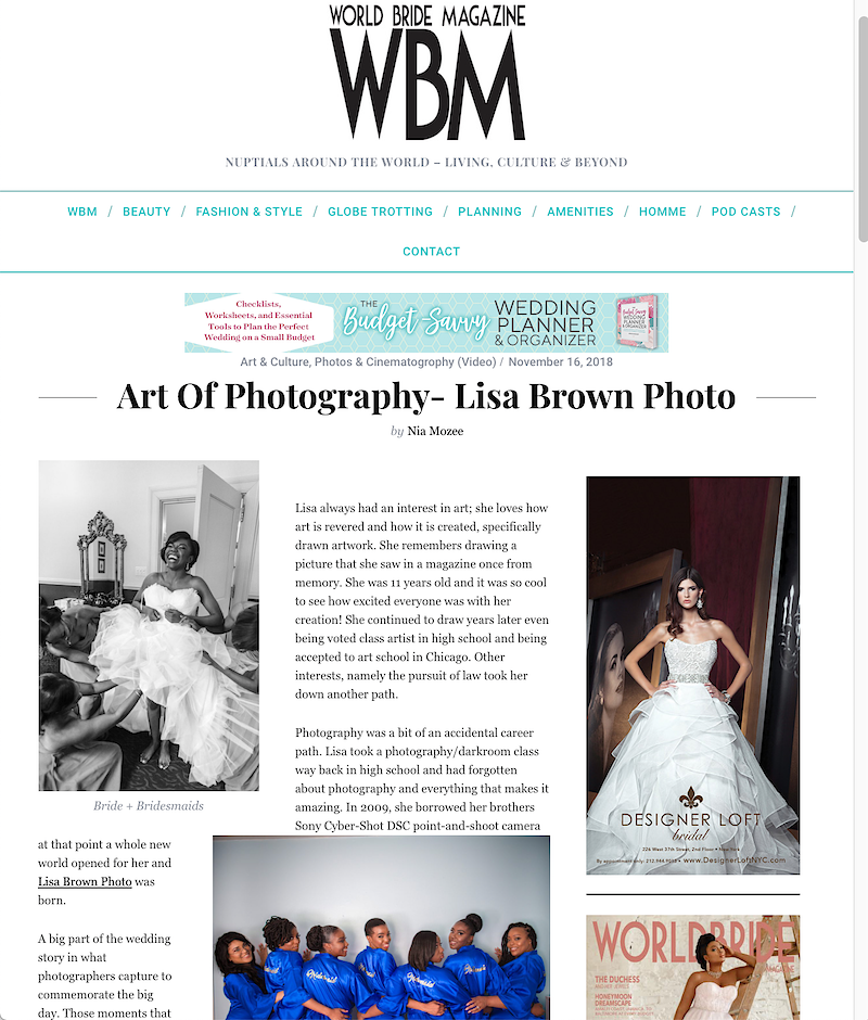 Featured - Lisa Brown Photo || New York Wedding & Lifestyle Photography