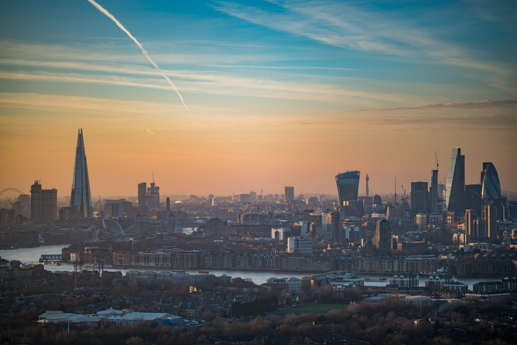 London skyline at sunset - London Viewpoints