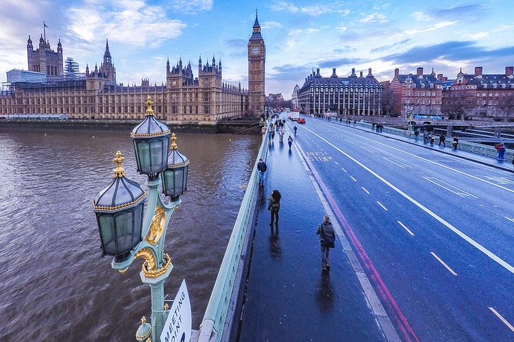 Birds eye of Big Ben - London Viewpoints