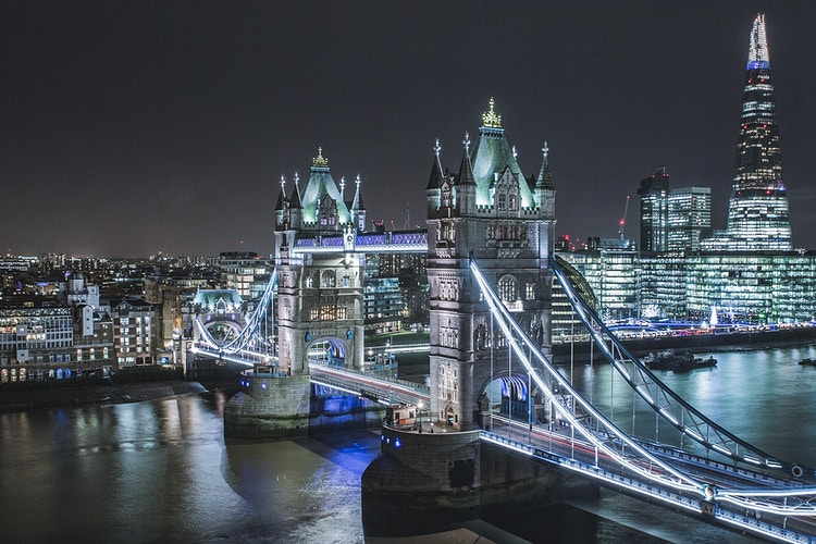 Tower Bridge and the Shard - London Viewpoints