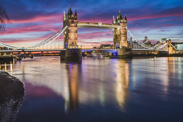 Sunrise by Tower Bridge - London Viewpoints