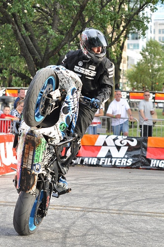 Wheelie - Lori B. Adams Photography