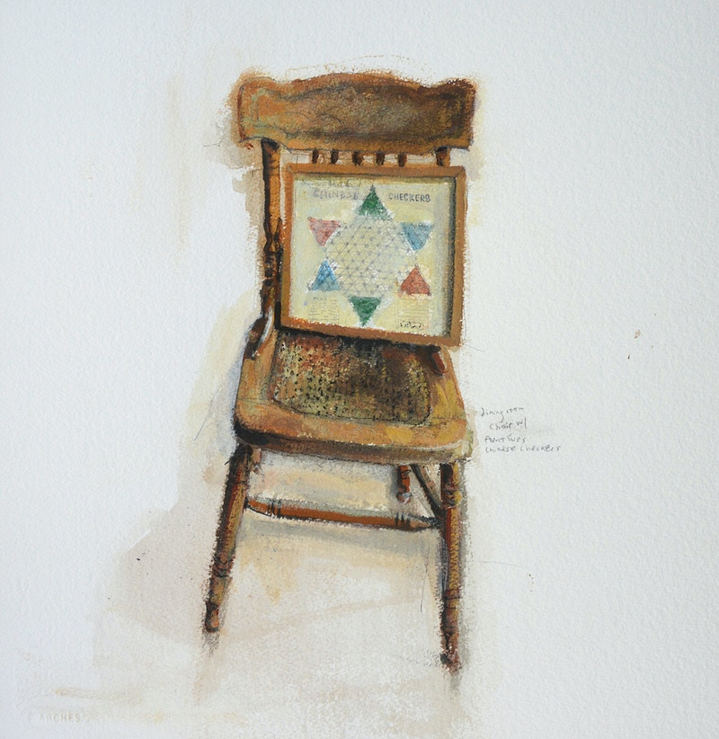 Chair With - MAGGIE HUBBARD