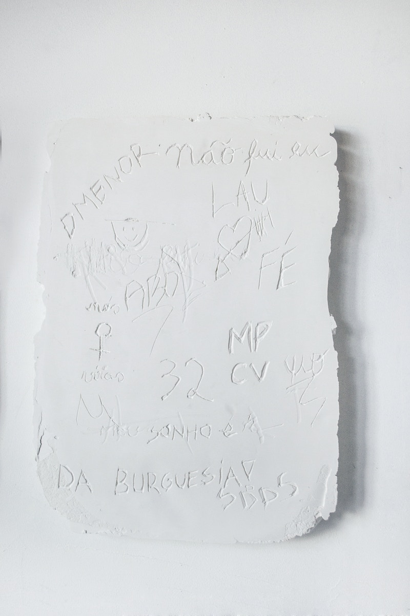 Wall Inscription - Manoela Medeiros