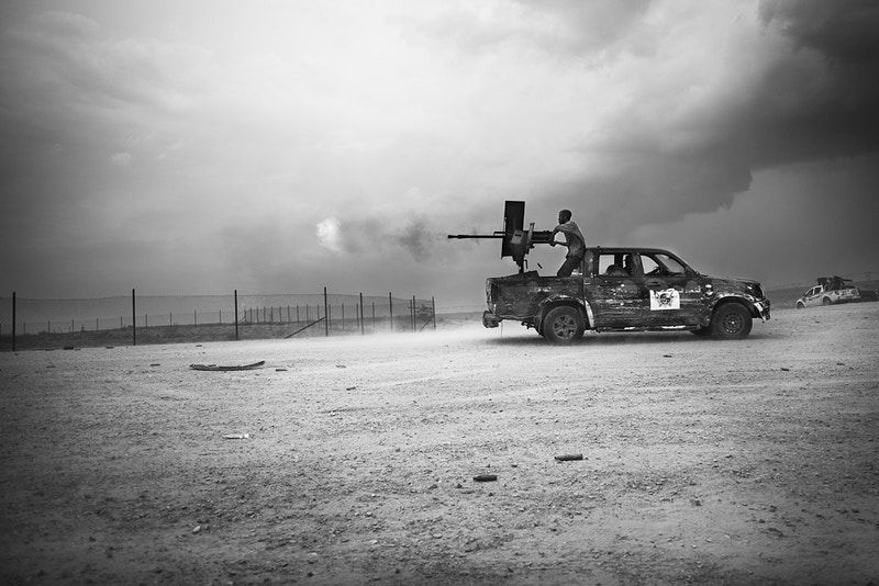 Feature The Battle For Sirte Libya - Manu Brabo