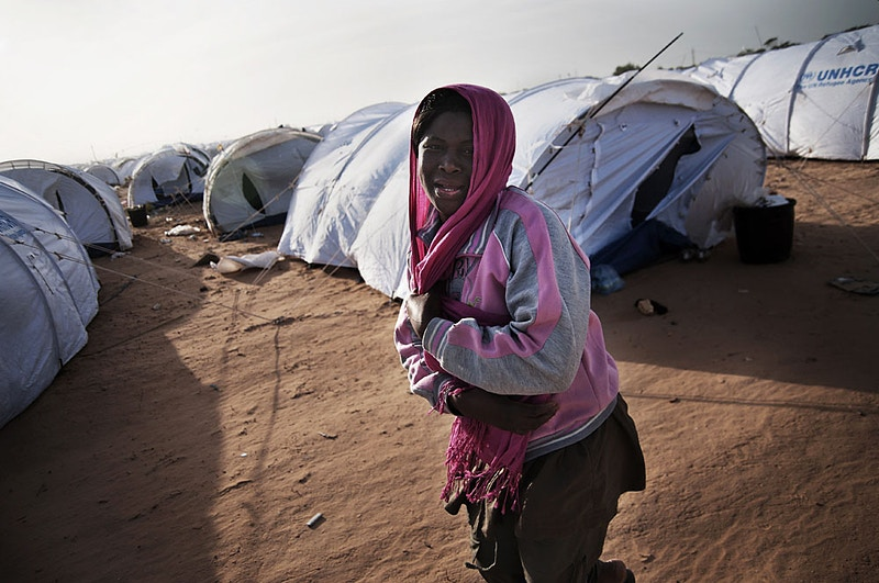 Wire Libyan Conflict Refugees - Manu Brabo