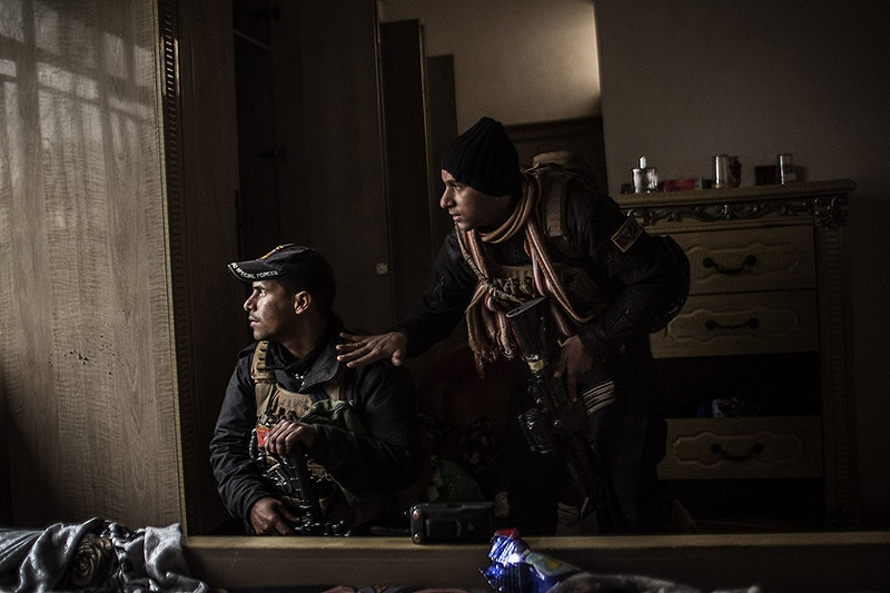 Wire The Battle For Mosul - Manu Brabo