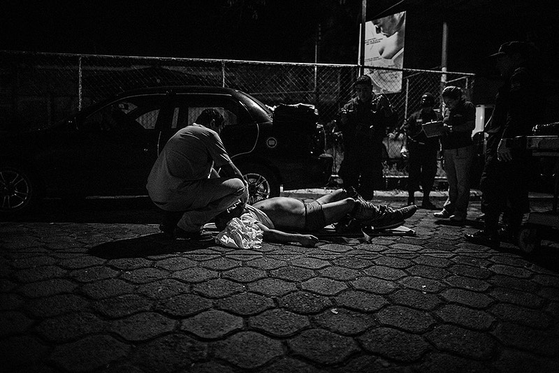 Feature Gangs Warfare In El Salvador - Manu Brabo