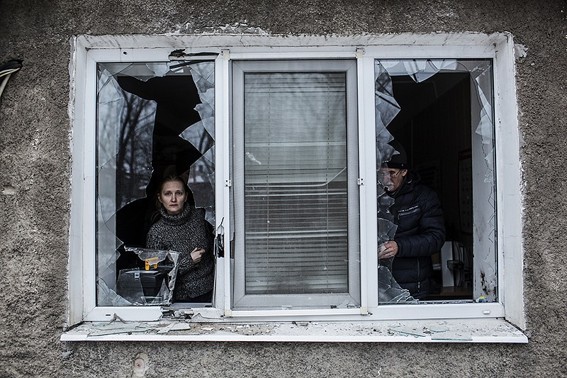Wire Frozen Tears Of Eastern Ukraine - Manu Brabo