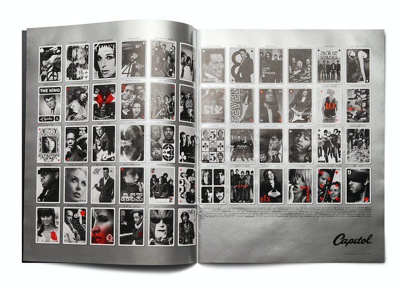 Capitol Records I Packaging Campaign - MARC ATLAN DESIGN