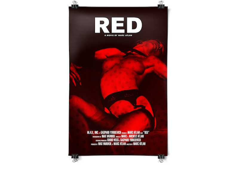 Red Movie And Soundtrack - MARC ATLAN DESIGN