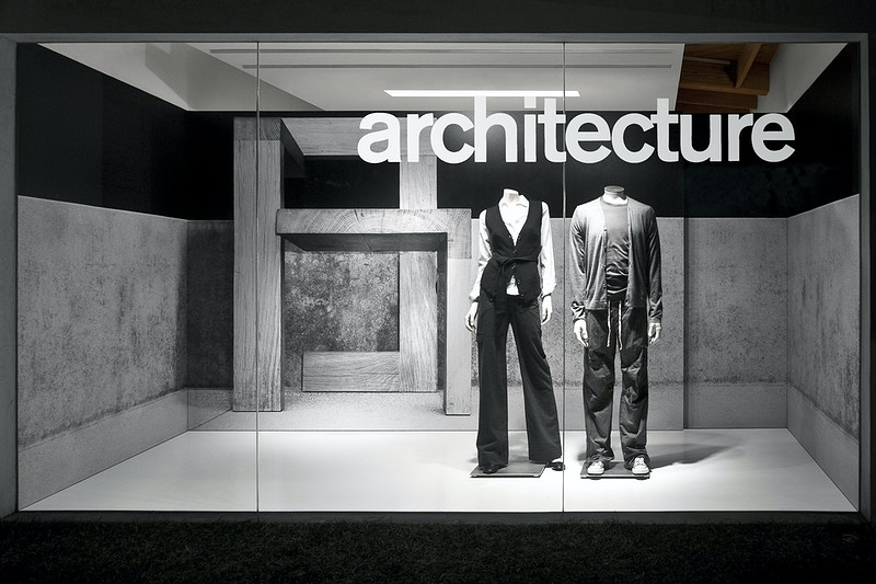 Window Display 3 - MARC ATLAN DESIGN