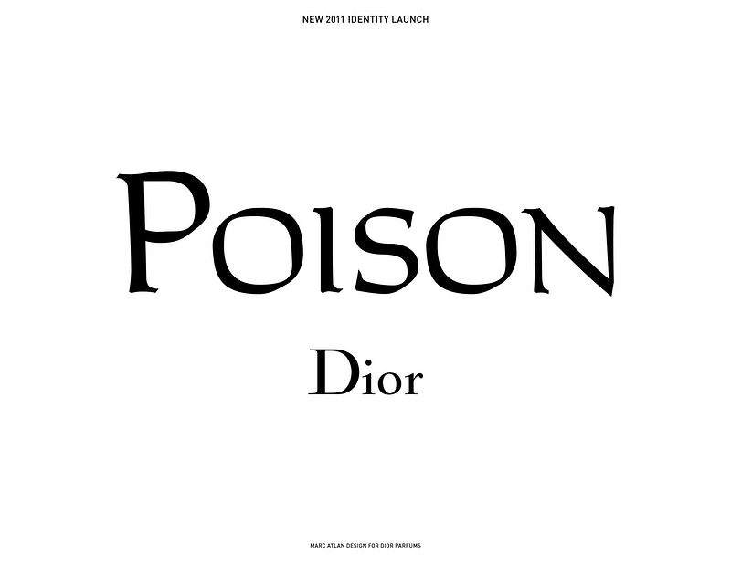 Poison Fragrance Branding - MARC ATLAN DESIGN