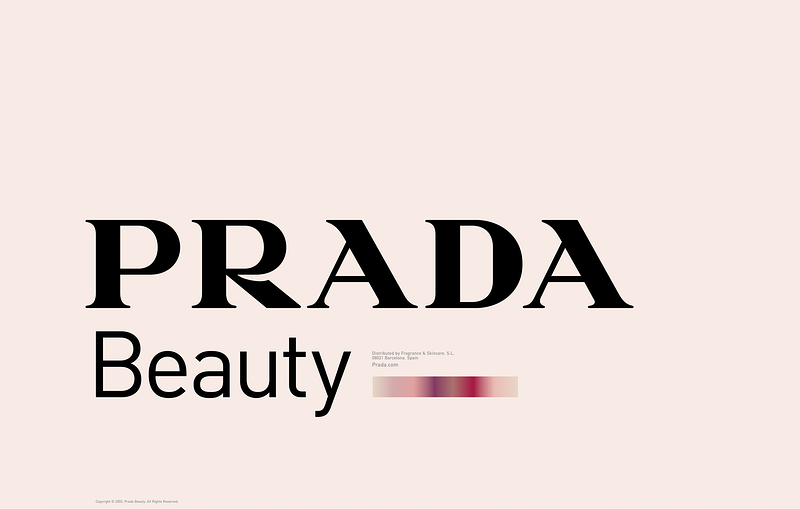 Prada Beauty Campaign - MARC ATLAN DESIGN