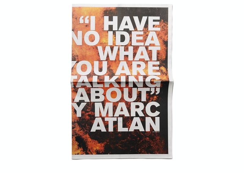 Self Promotional Material - MARC ATLAN DESIGN