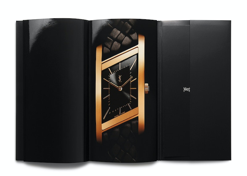 Ysl Timepieces Catalogue - MARC ATLAN DESIGN
