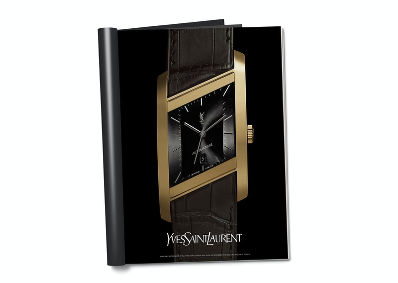 Ysl Timepieces Campaign - MARC ATLAN DESIGN