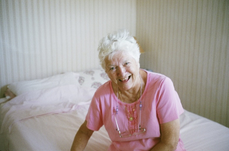 grandma laugh - Margaret Murphy Photography