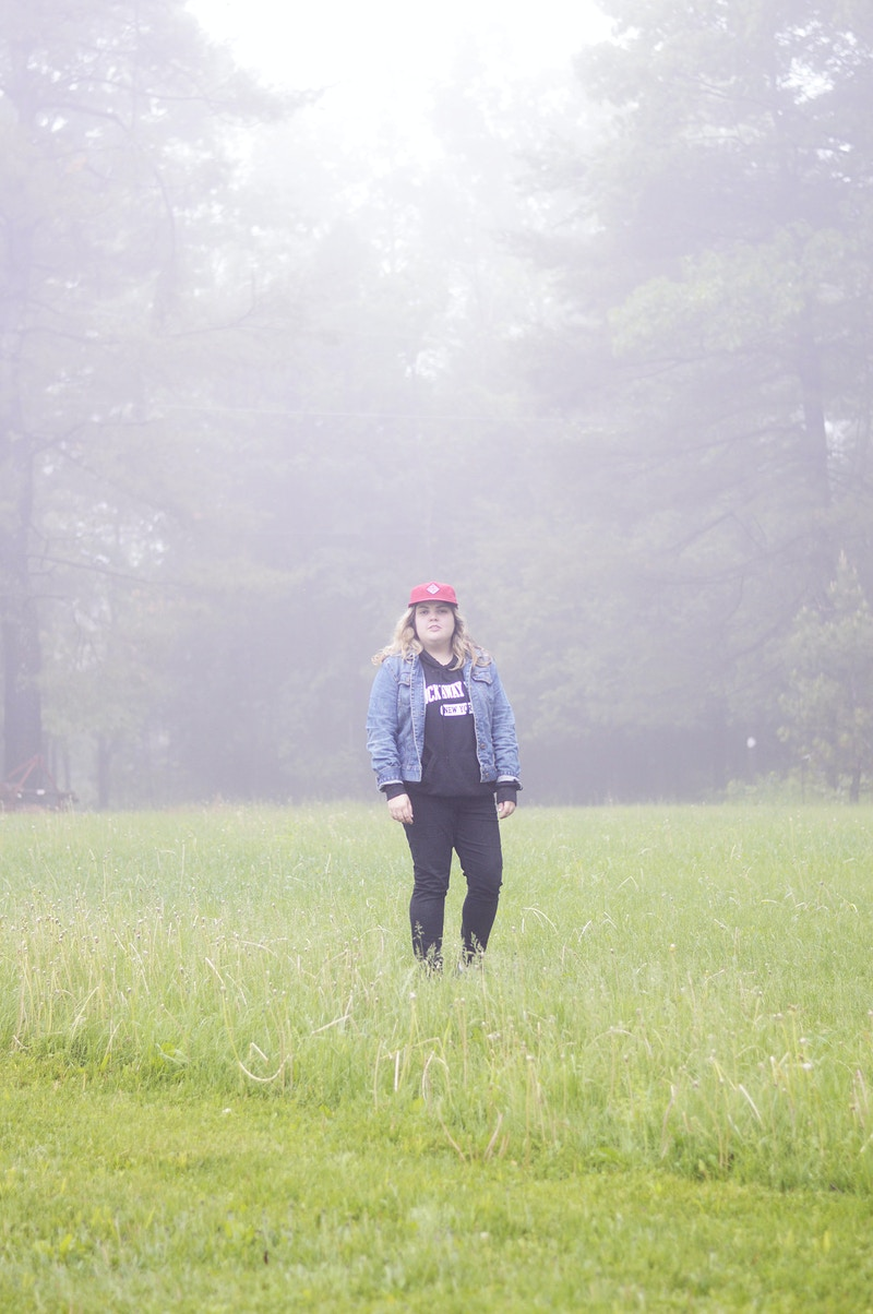 laura in the fog - Margaret Murphy Photography
