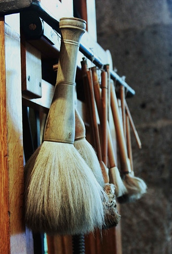 Frida Kahlo's brushes - marianamanina Photography